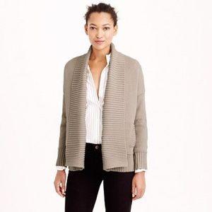 JCREW - Ribbed Shawl Collar Cardigan Sweater XS/S